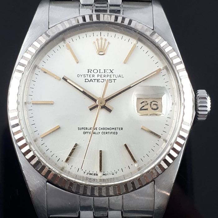 Rolex - Datejust Automatic, White Gold / Stainless Steel - Ref: 16014 - Férfi - 1970-1979