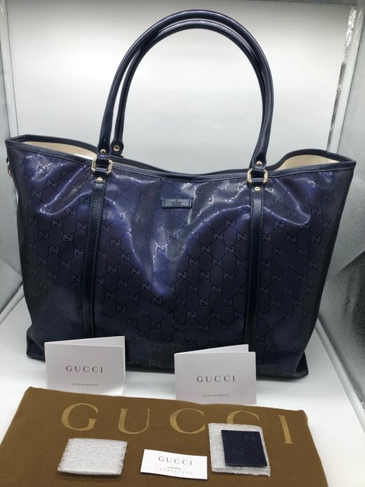 baec69e303 Gucci - Shopping bag GG Borsa a spalla - Catawiki