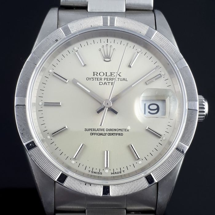 Rolex - Oyster Perpetual Date Automatic, Stainless Steel - Ref: 15210 - Férfi - 1990-1999