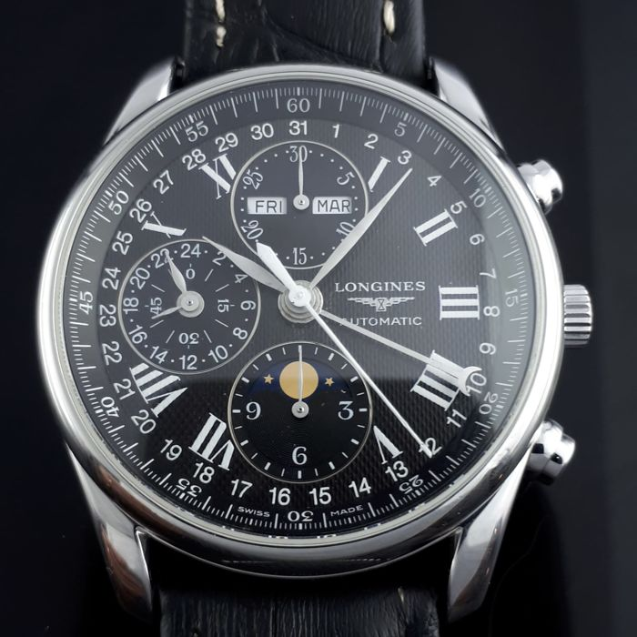 Longines - Master Collection, Moon Phase  - Ref: L678.2 - Heren - 2011-heden