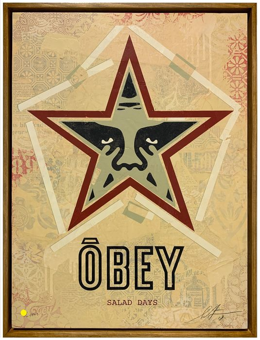 "Shepard Fairey (OBEY) - ""Salad days"" HPM"