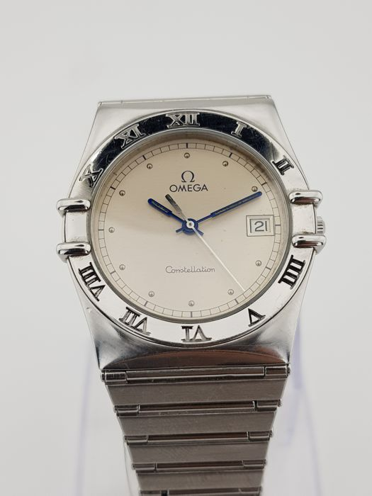 "Omega - Constellation ""NO RESERVE PRICE"" - 3961070/1080 - Men - 1990-1999"