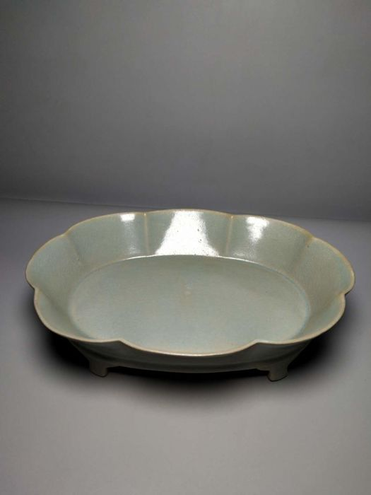 Exquisite kiln narcissus basin - China - late 20th century