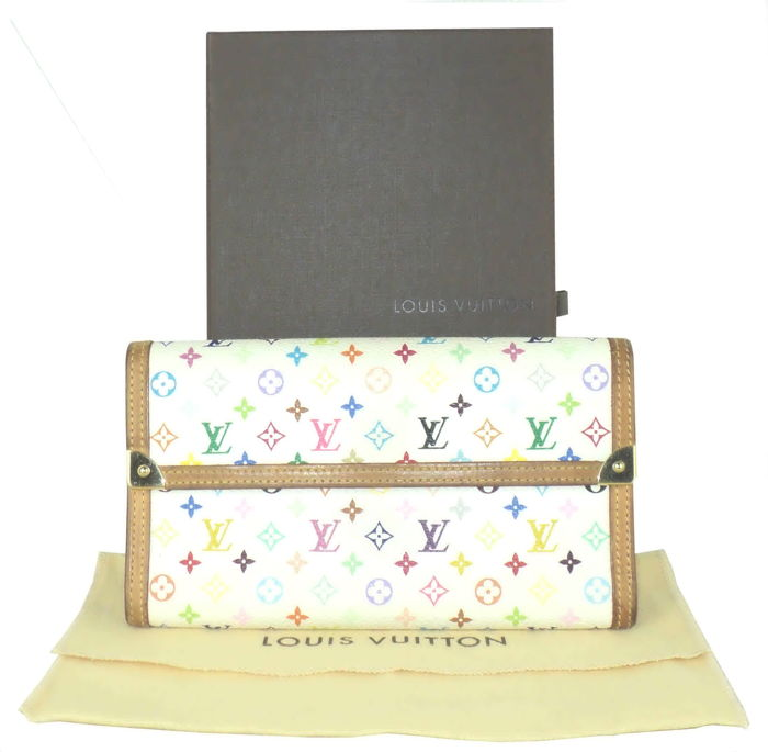 0af5aa931669b Louis Vuitton - Monogram Multicolore Porte Tresor International Portemonnee
