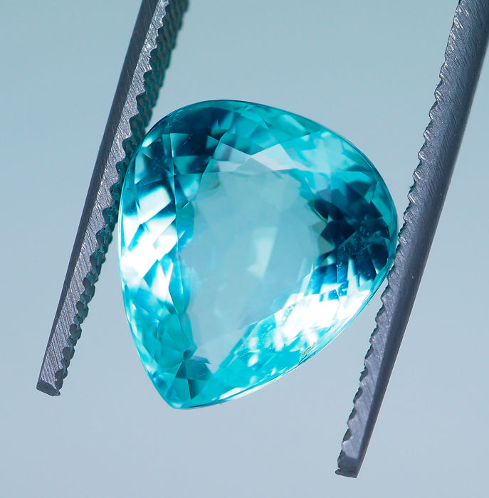 "Greenish Blue ""Paraiba"" Tourmaline - 8.51 ct"