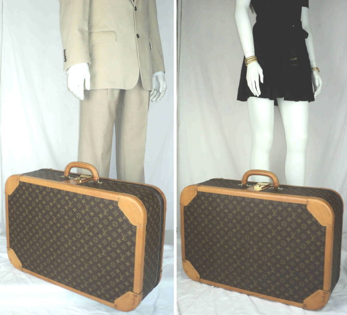 0d88e84f31a Louis Vuitton - Monogram Stratos 70 Suitcase - Catawiki