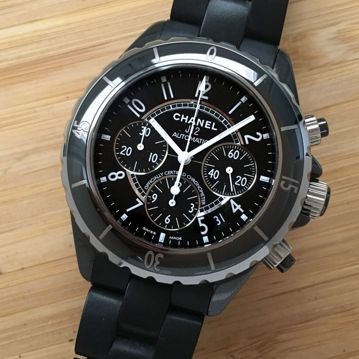 Chanel - J12 Automatic Chronograph   - Men - 2000-2010