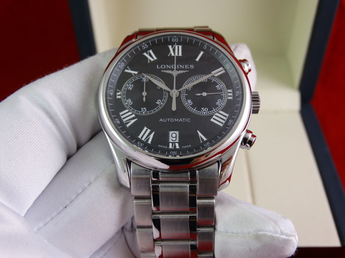 Longines - Master Collection Chronograph - L2.629.4.51.6 - Unisex - 2011-heden
