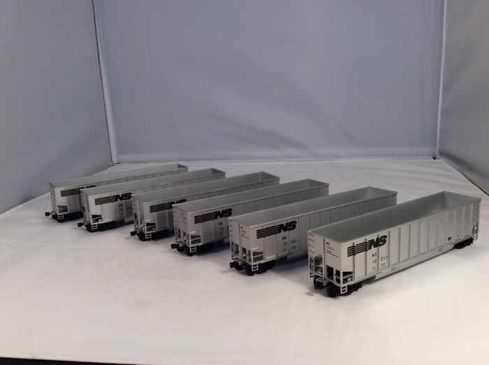 Walthers H0 - 932-5304 - Freight carriage - 6-piece freight car set - (4265) - Norfolk Southern Railway