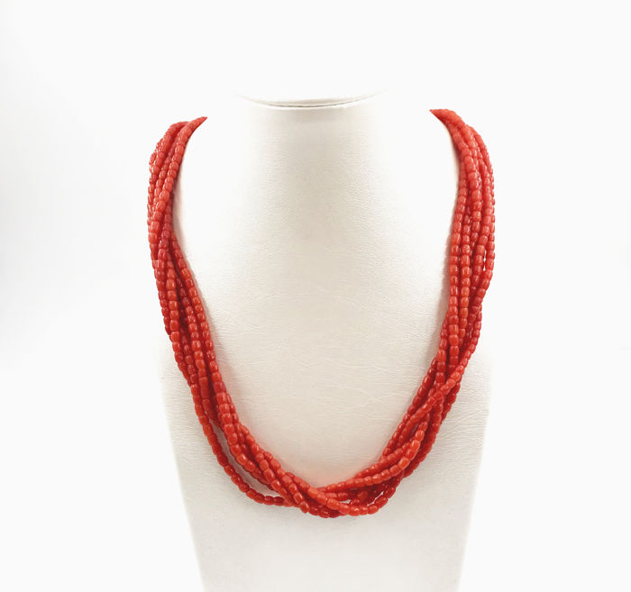 Corail rouge - Collier