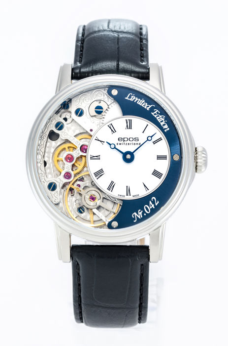 Epos - Limited Edition Skeleton with Pulsometer - 3435/F-Blu-V2 - Men - 2011-present