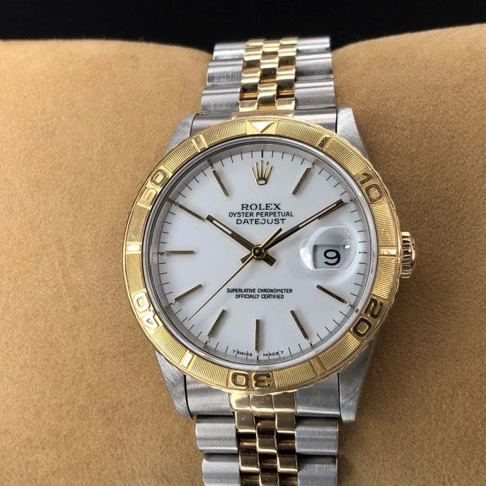 Rolex - Datejust Turn-O-Graph Thunderbird - 16263 - Uniszex - 1990-1999