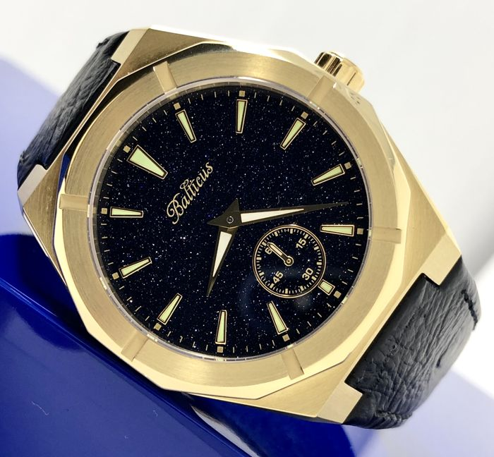 Balticus - Star Dust Gold and Black with extra leather strap - Black Dust - Unisex - 2011-heute