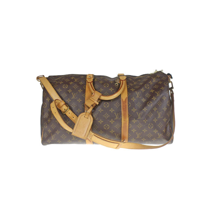 d3d497f31c5a Louis Vuitton - Monogram Keepall 50 Bandouliere Travel bag - Catawiki