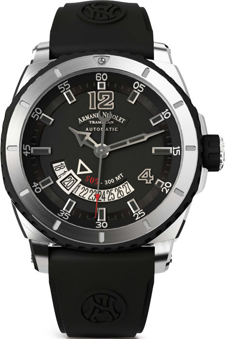 Armand Nicolet - S05-3 Date  - A710AGN-GR-GG4710N - Men - 2011-present