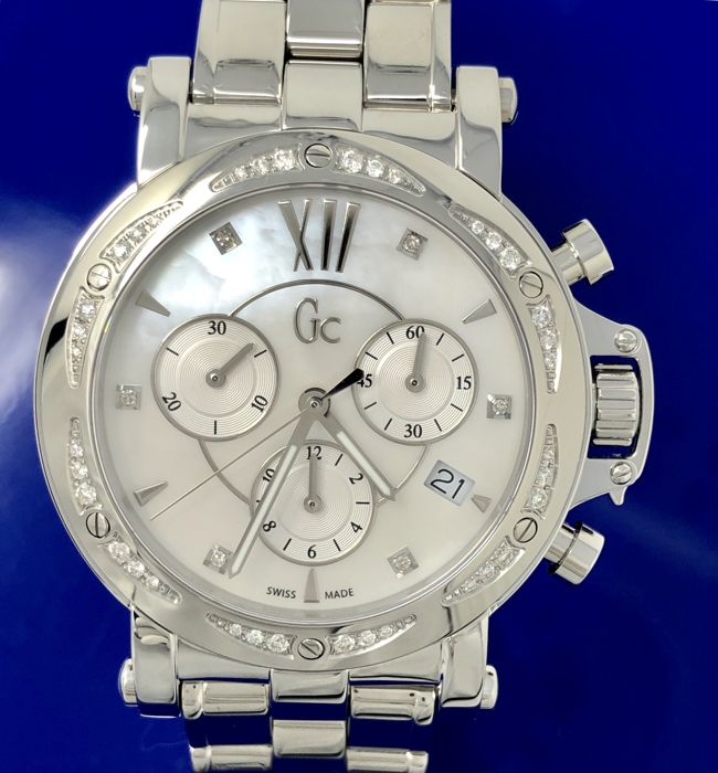 Guess Collection  - Diamond GC Femme Chronograph Swiss Made  - X73106M1S - Senhora - 2011-presente