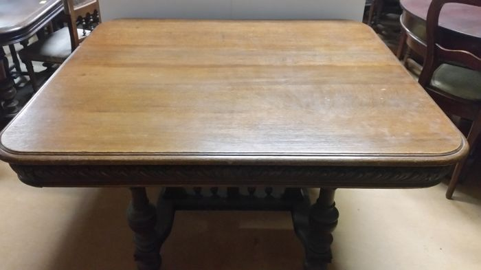 Used, Antique French oak table Curio Bric-à-brac for sale