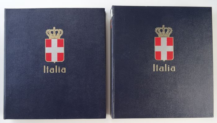 Italy 1862/1983 - Collection in two DAVO pre-printed albums
