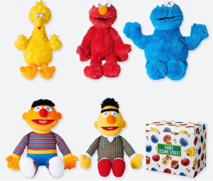 Kaws - Sesame Street Capsule Collection