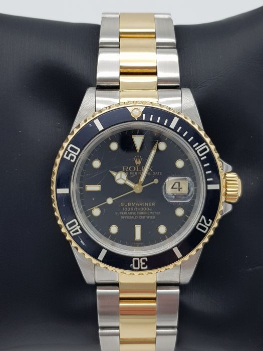 """Rolex - Oyster Perpetual Date Submariner """" NO RESERVE PRICE """" - 16613 - Heren - 2000-2010"""