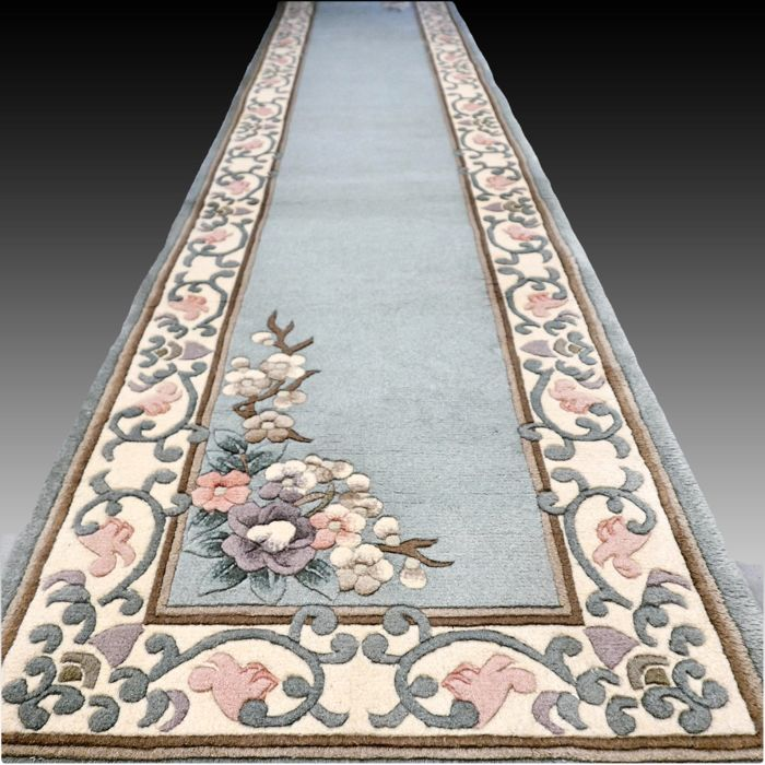 China Aubusson - Tapijt - 340 cm - 70 cm