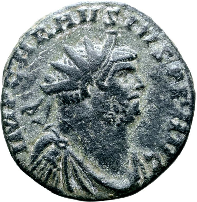 Roman Empire - Antoninianus - Carausius (Romano-British Emperor, AD 286-293) - Londinum (London) mint. AD 287-288. PAX AVG