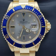Rolex - Oyster Perpetual Date Submariner  - 16618 - Men - 1990-1999