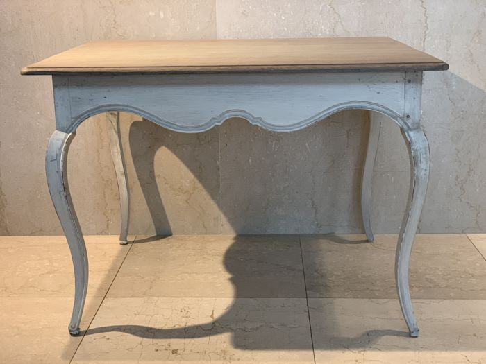 Patinated oak table Interior & Lifestyle French Interior & Lifestyle for sale