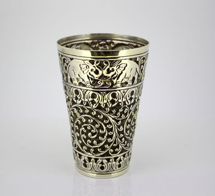 Cup - Silver - India - Early 20th Century