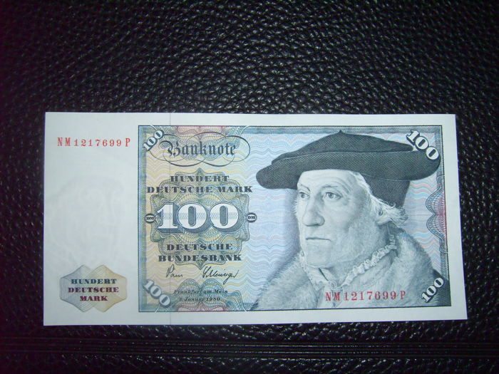 Germany - 5, 10, 20, 50 and 100 Deutsche Mark 1980 all UNC