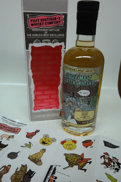 Glen Moray 12 years old limited release batch 4 - one of 213 bottles - That Boutique-Y Whisky Company - 500ml