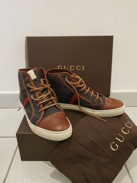 acb5bf3edd4 Gucci - high web trainers - Catawiki