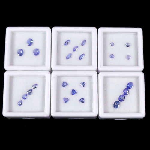 25 pcs  Tanzanite - 3.50 ct