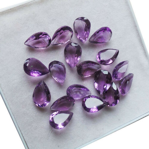 18 pcs  Amethyst - 20.50 ct