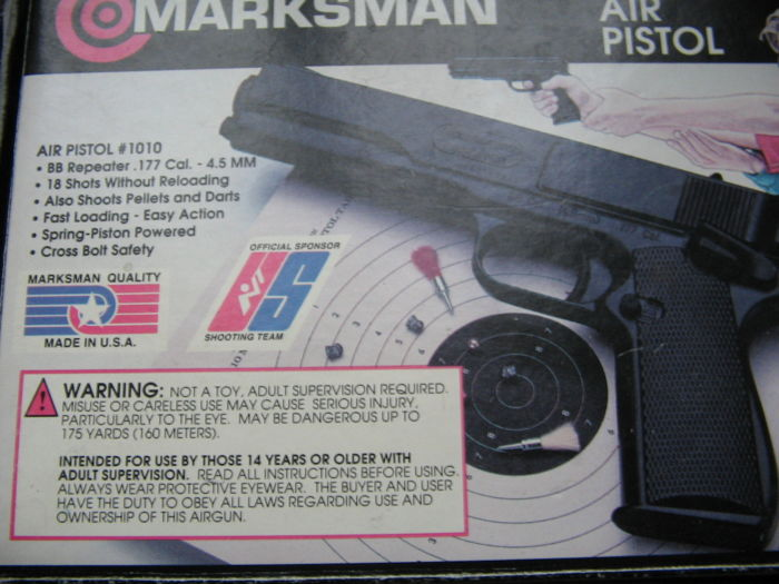 Marksman Products - Spring-Piston - Air pistol -  177 Pellet Cal
