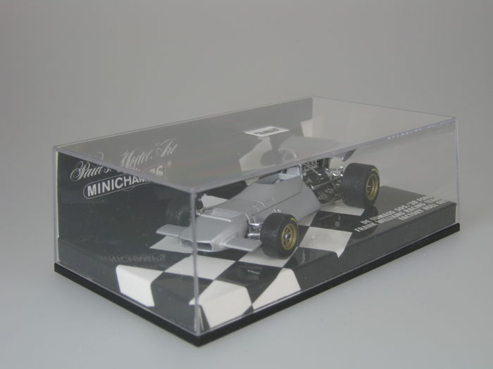 MiniChamps - 1:43 - De Tomaso 505/38 Ford - Williams Racing Team - Factory Roll Out - silver