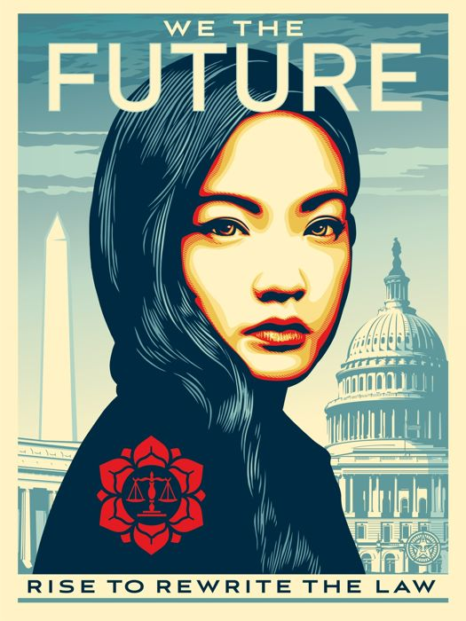 Shepard Fairey - We the Future - To Rewrite The Law