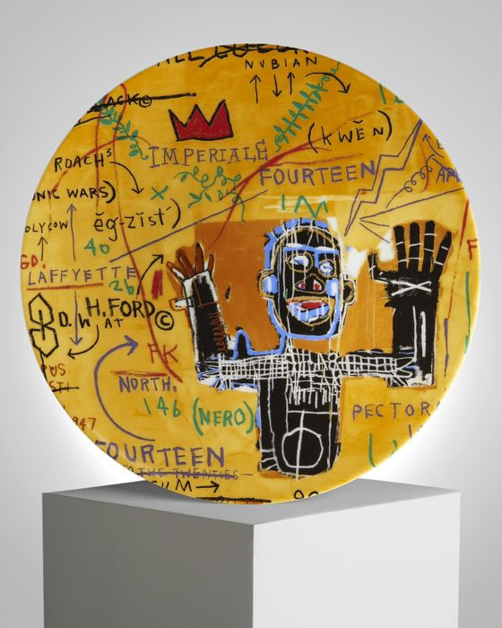 Jean-Michel Basquiat - All colored Cast (1982)