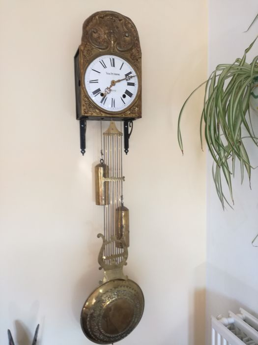 comtoise clock - Messing, Staal - 20e eeuw