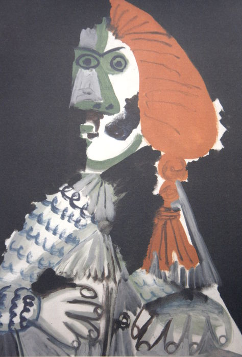 Pablo Picasso (after) - Man in typical costume