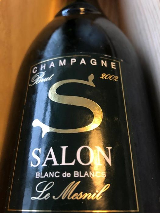 2002 Salon Cuvee \'S\' Le Mesnil - Champagne Blanc de Blancs - 1  Normalflasche (0,75 Liter) - Catawiki