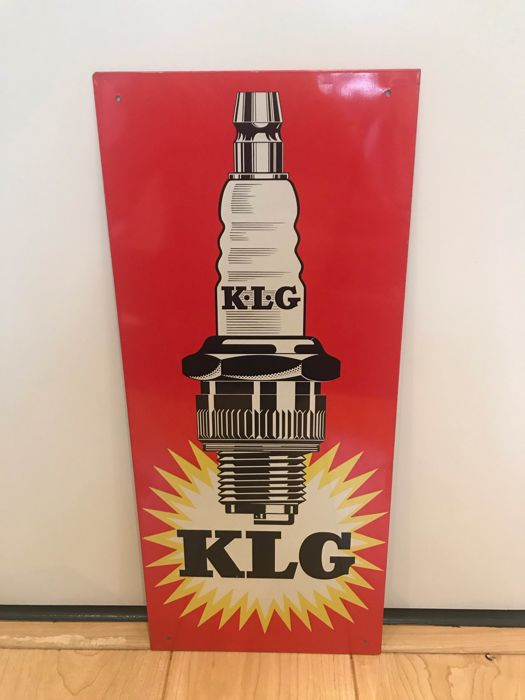 billboard - KLG bougies - 1960
