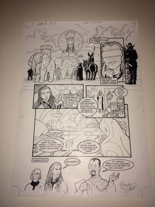 Heart of Empire  Volume 3 - Heart of Empire, chap 3, page 13 - Loose page - First edition - (1999/1999)