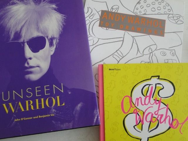andy warhol toy drawings