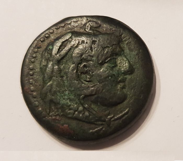Greece (ancient) - Ptolemaic Kings. AE, Ptolemy IV, 221-204 BC, Alexandria Mint.