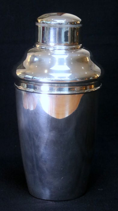 George Nilsson from Gero - Cocktail shaker - Silver plated - Art Deco - Silver plated - Netherlands - 1950-1999