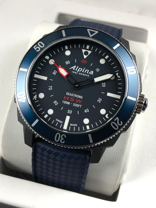 "Alpina - Seastrong Horological Smartwatch - ""NO RESERVE PRICE"" - AL-282LNN4V6 - Heren - 2011-heden"