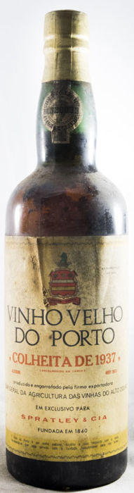 1937 Spratley Colheita Port - 1 Bottle (0.75L)