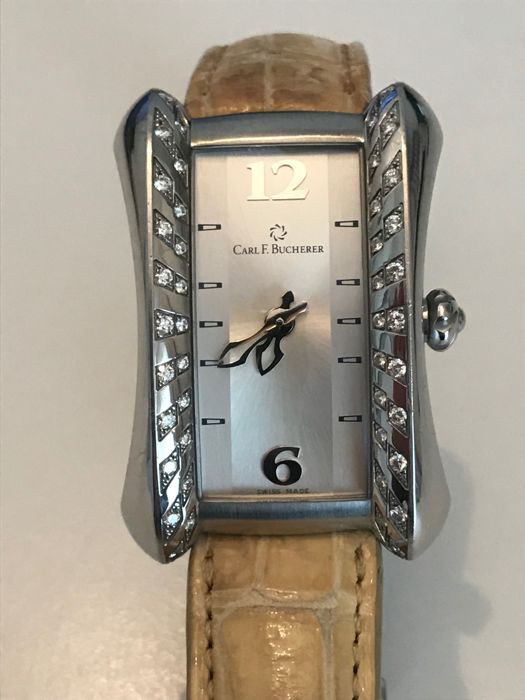Carl F. Bucherer - Alacria Diamond diva - 00.10705.08.16.11 - Dames - 2000-2010