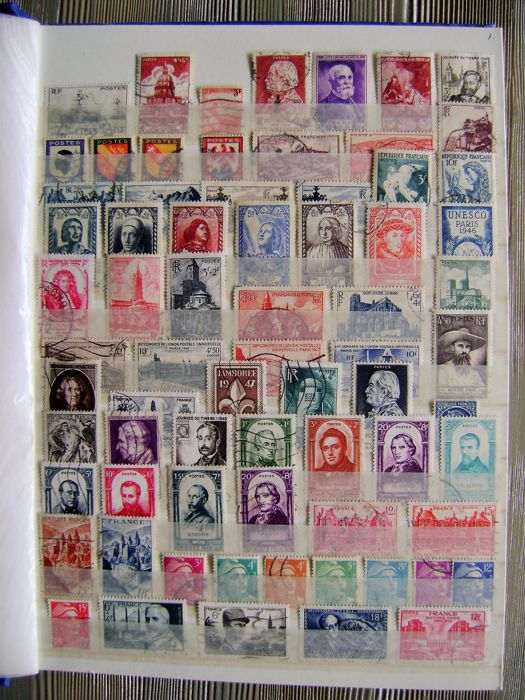 France 1946/2009 - Collection stamps - Michel